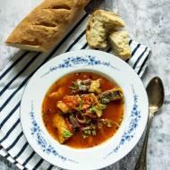 Śródziemnomorska zupa rybna Julii Child