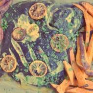 Turbot z karmelizowaną cytryną