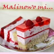 Malinowy raj - ciasto malinowe