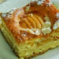 Ciasto kruche z brzoskwiniami