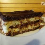 Ciasto kokosowo-czekoladowe bez pieczenia [PRZEPIS]