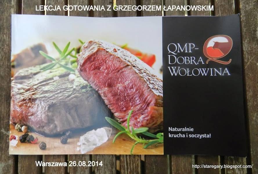 Lekcja gotowania - wołowiną QMP