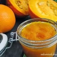 Dżem z dyni z pomarańczą