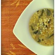 Zielona zupa na zdrowie