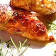 Pierś z kurczaka w marynacie miodowo-musztardowej