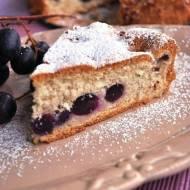 Puszyste ciasto z winogronami i cynamonem (ciasto bezglutenowe)