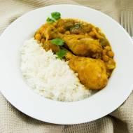 Jamie's Oliver pukka yellow curry.