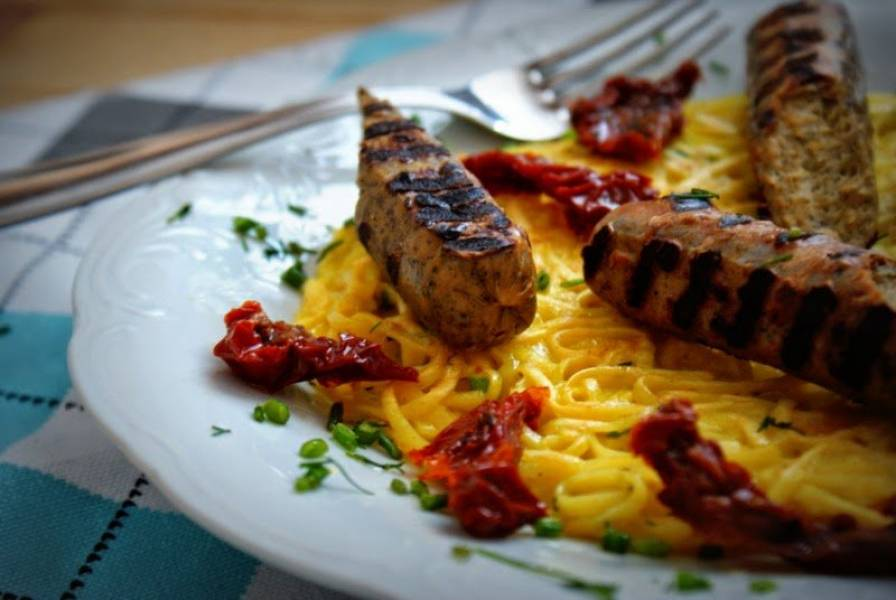 Pomysł na wegetariański obiad z Polsoja