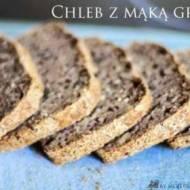 Pełnoziarnisty chleb z mąką gryczaną