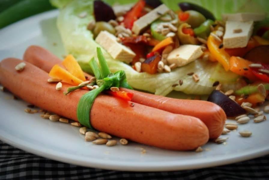 Parówki sojowe i tofu Polsoja ... śniadanko wegetariańskie dla każdego