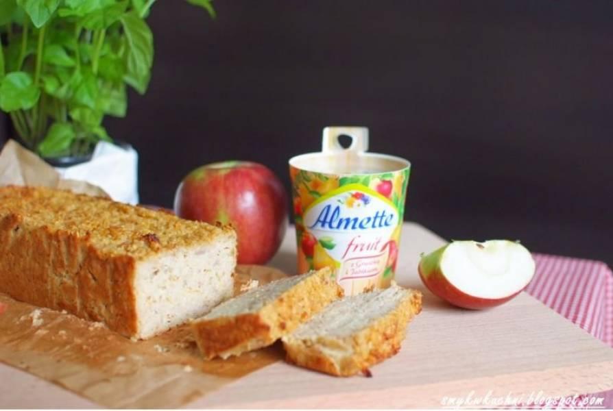 Dietetyczny jabłecznik z Almette! (ciasto bez mąki i cukru)