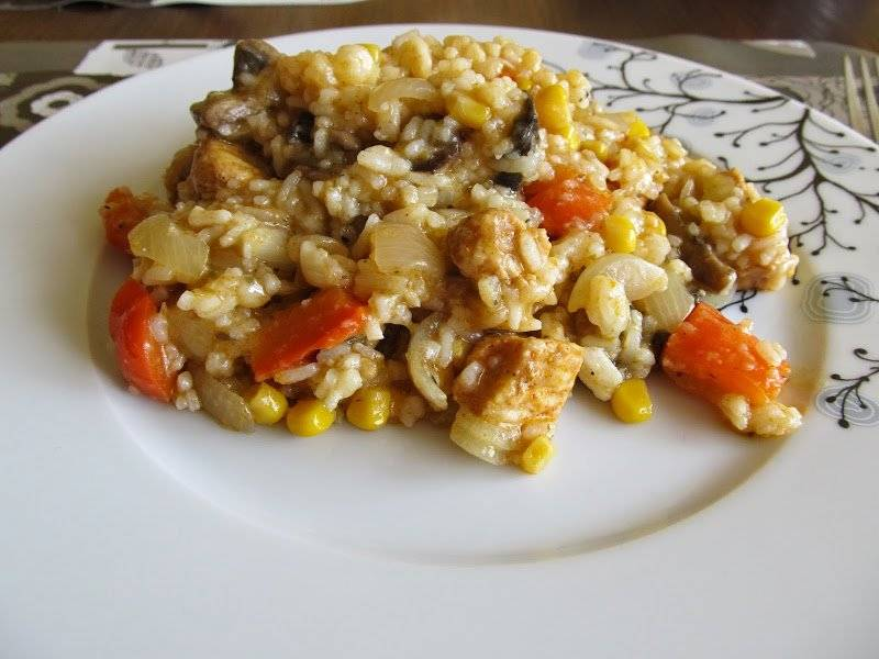 Risotto z kurczakiem