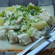 Kurczak z melonem - chicken with melon