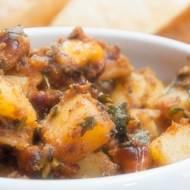 Gotujemy z Formułą, czyli Sukha Bateta Nu Shaak – curry ziemniaczane z orzechami nerkowca