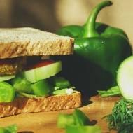 Zielona kanapka