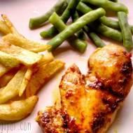 Piersi z kurczaka w aromatycznym sosie