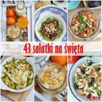43 przepisy na świąteczne sałatki