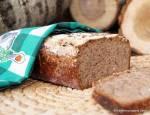 Chleb na zakwasie z  mąką gryczaną i siemieniem lnianym
