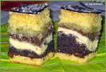 Ciasto makowo-serowo-orzechowo-jabłkowe