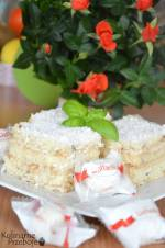 Ciasto Raffaello bez pieczenia