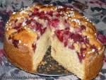 Ciasto waniliowe z truskawkami
