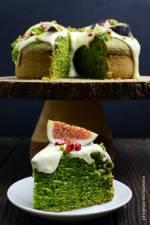 Ciasto ze szpinakiem i kremowym serkiem