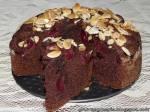 Czekoladowe ciasto z czereśniami