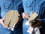 Domowy chleb na zakwasie. Pszenno- żytni.