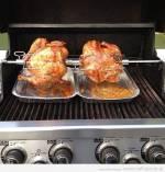 Grillowanie kurczaka na rożnie – Włoski kurczak z rożna, kurczak  Huli Huli oraz kurczak  z sosem z melasy i cherry