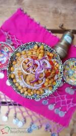 Jak przygotować szybki obiad? Kasza pęczak z polędwiczką, cieciorką i papryką