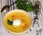 Kalafiorowa zupa - krem z czosnkiem