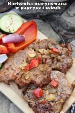 Karkówka marynowana w papryce i cebuli