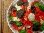 Klasyczna sałatka z pomidorów czyli Caprese