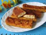 Krokiety z serem na waflach