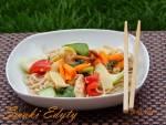 Kurczak feng shui z bambusem