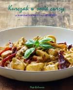 Kurczak w sosie curry z makaronem pełnoziarnistym