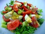 Letnia sałatka z jajkiem / Summer salad with egg