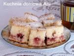 Mleczne ciasto z truskawkami