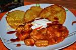 Najlepsze placki po węgiersku -smaczne placki ziemniaczane z gulaszem