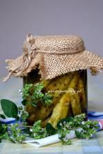 Ogórki konserwowe z oregano