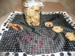 Owsiane ciasteczka z żurawiną