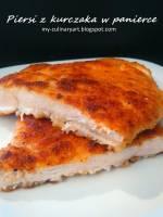 Panierowane filety z kurczaka