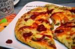 Pizza z tuńczykiem i oliwkami - chrupiąca pyszna pizza