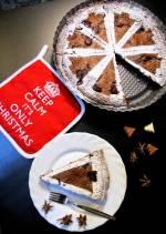 (Przed)świąteczna tarta z malinami