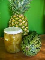 Przetwory - cukinia a'la ananas