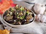 Sałatka pieczarkowa na ciepło / Warm mushroom salad