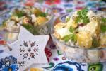 Sałatka ziemniaczano-śledziowa z jajkiem