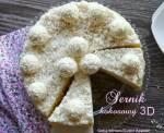 Sernik kokosowy 3D