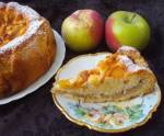 smaczny ucieraniec z jabłkami i brzoskwinią-czyli szybkie,łatwe ciasto...