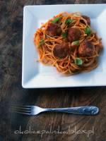 Spaghetti  meatballs - spaghetti z klopsikami